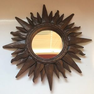 Decorative Sun Mirror
